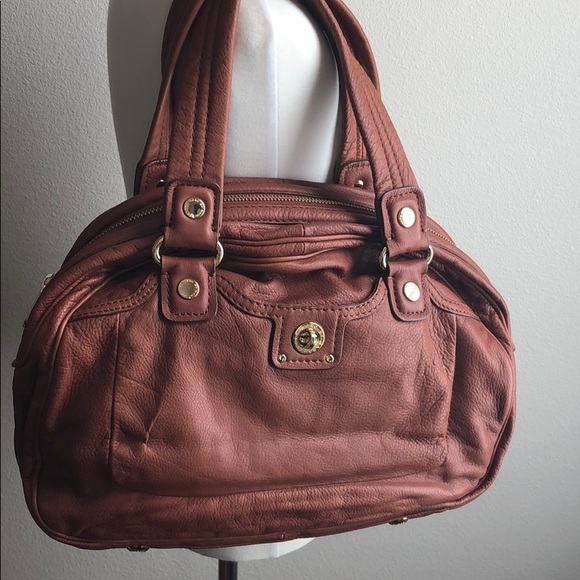 fe274e7979d Marc By Marc Jacobs Bags | Nwt Brown Satchel Bag | Poshmark